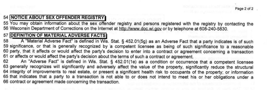 Important Rules - Applegate Properties